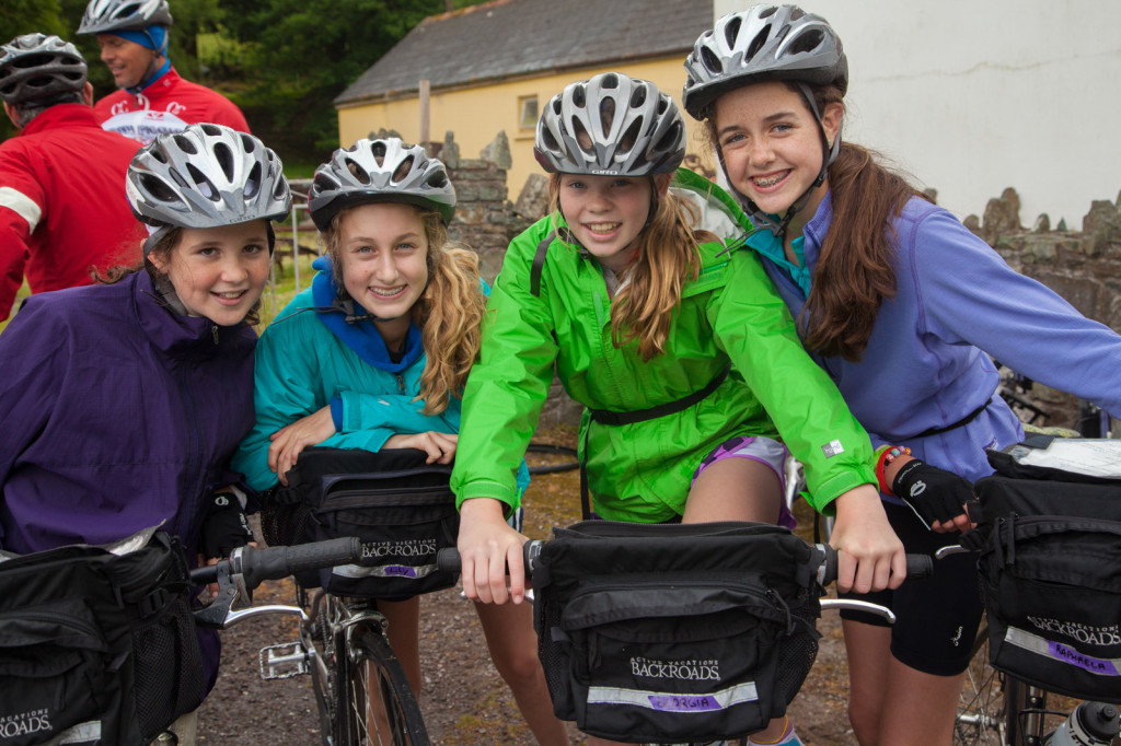Ireland family bicycle tour
