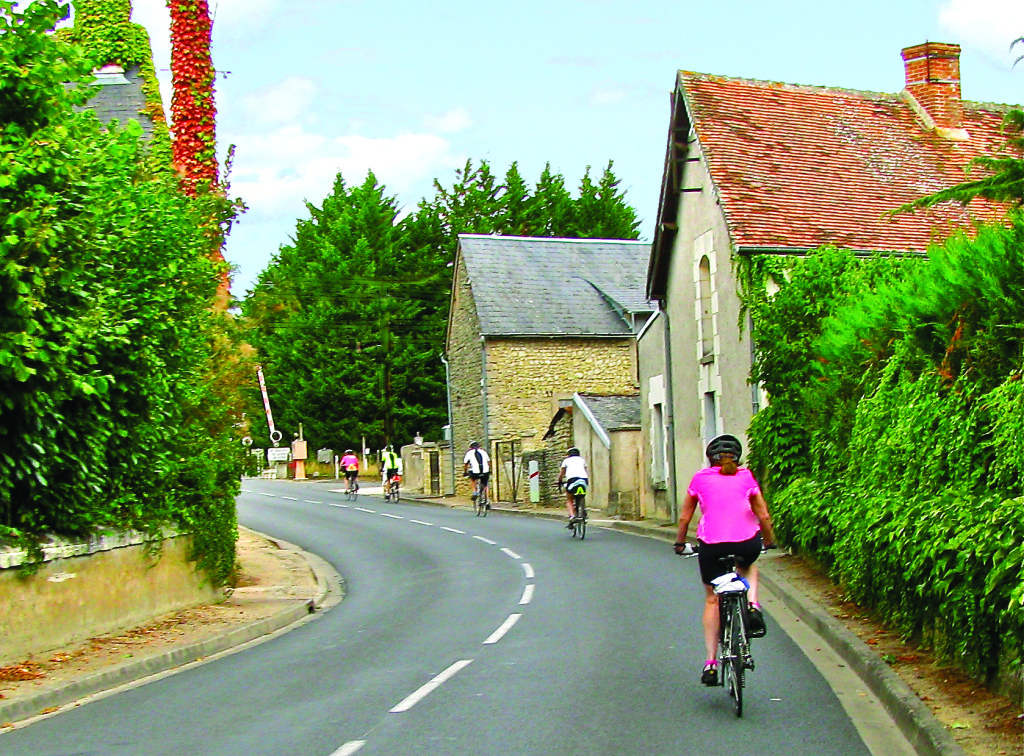 Biking in Loire Valley, France