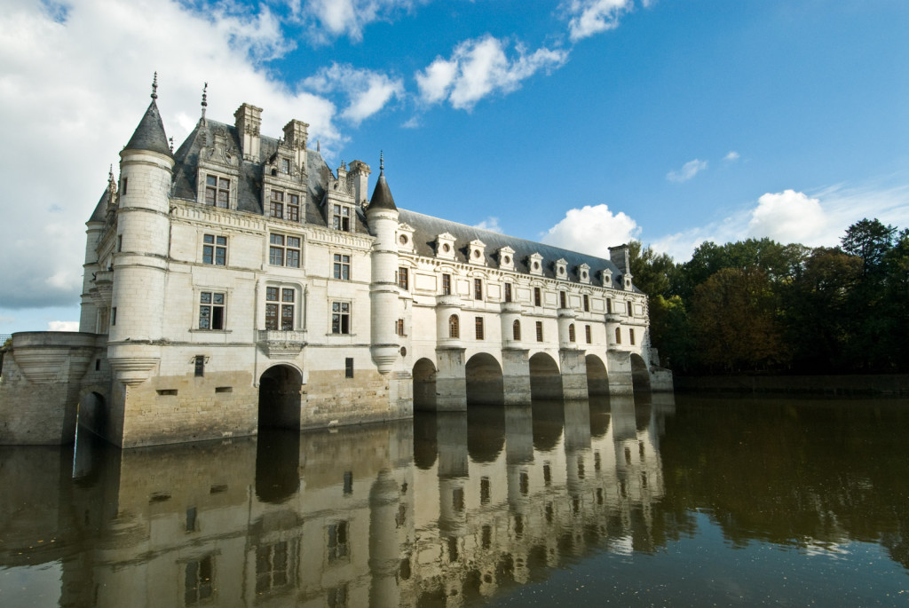 Castle in Loire Valley, France