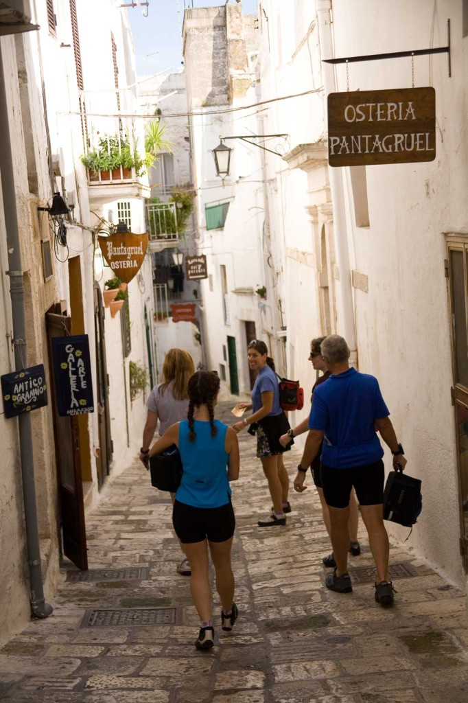 Puglia, Italy active travel