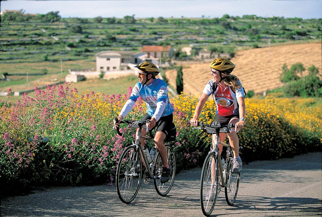Sicily biking