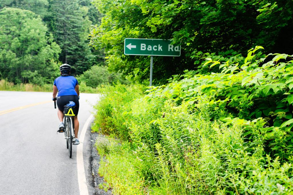 Biking in Nova Scotia, Canada