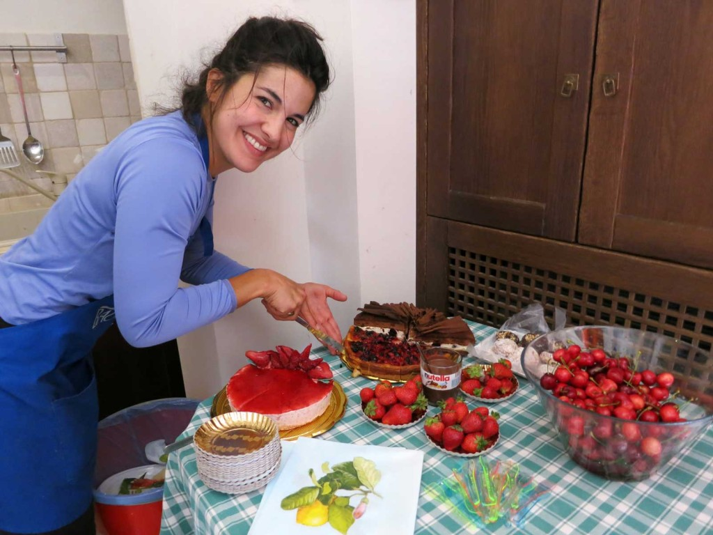 Delicious dessert on our Puglia, Italy bicycle tour