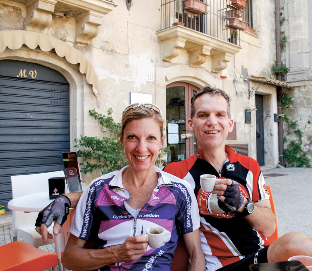 Biking in Sicily, Italy