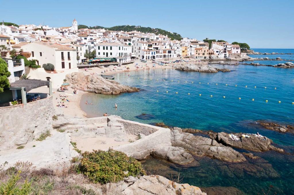 Costa Brava, Spain coastline