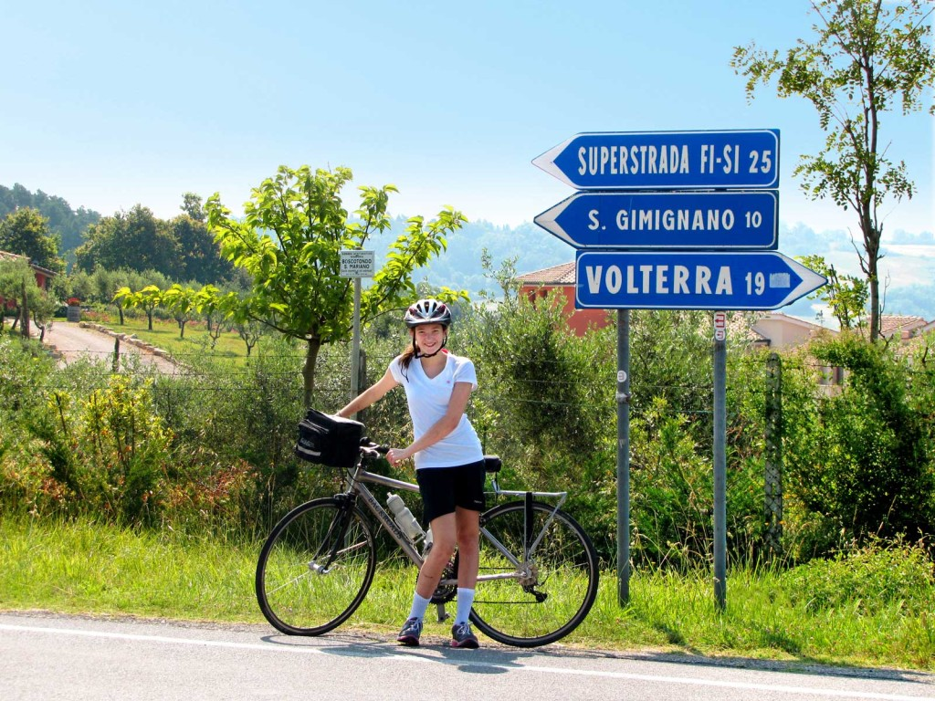 Tuscany bicycle tour
